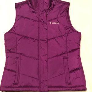 Columbia Women's Purple Vest Size Medium